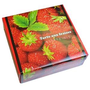 苺タルト 梱包箱 オリジナル包装 ギフトにおすすめ
