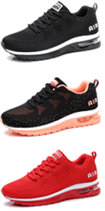 womens womans walking gym shoes sneakers lightweight air cushion athletic sports girls tennis