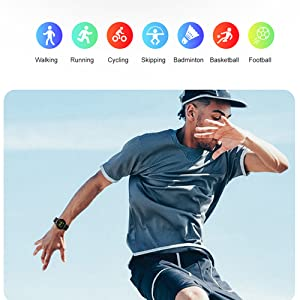 Fitness Tracker with 7 Sport Modes