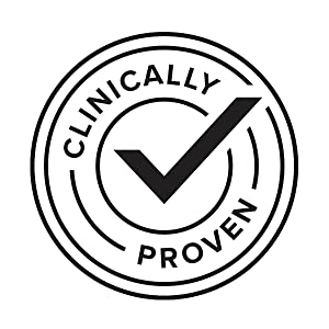 Clinically proven graphic