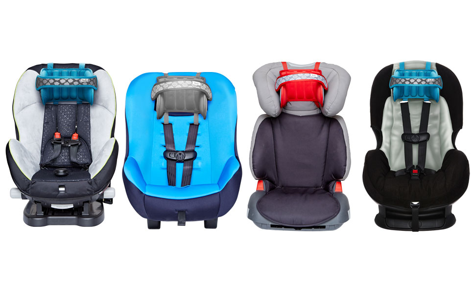 Baby Car Seat Head and Neck Support-The Best Car Seat Neck Relief and Head Support Band.【Blue】