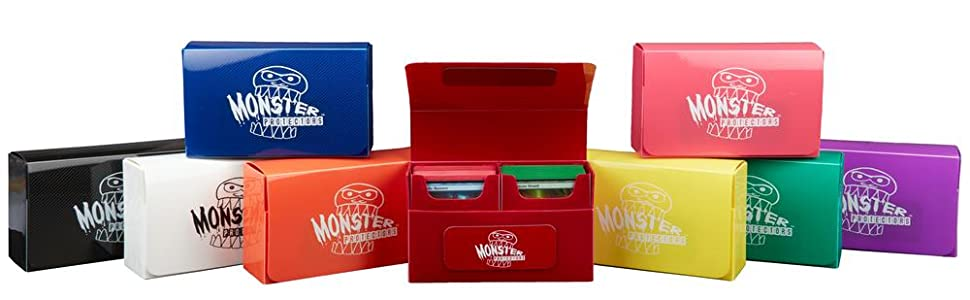 Monster Protectors Trading Card Boxes Group