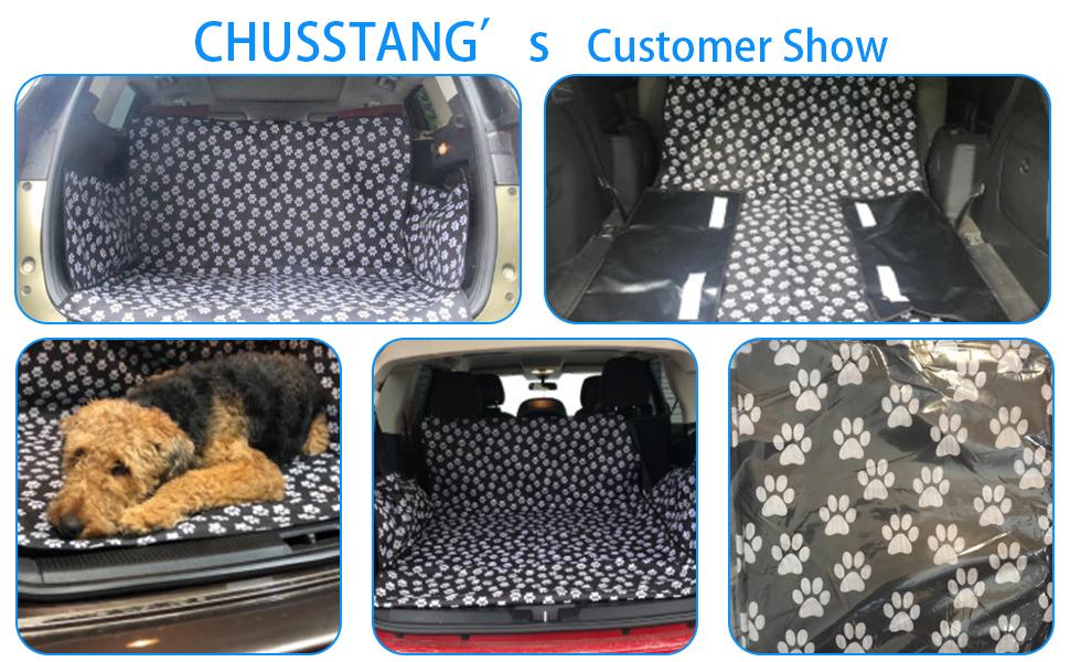Chusstang Kofferraumschutz Hunde Auto Universal Kofferraumdecke Ideal Für Deinen Hund Kofferraumschutzmatte Mit Seitenschutz Für Kofferraum Kofferraumschutzdecke Hund Wasserdicht Pflegeleicht Haustier