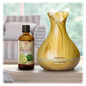 Huile Essentielle de Bergamote 100 ml - Citron Bergamia - Aromathérapie - Huile Es
