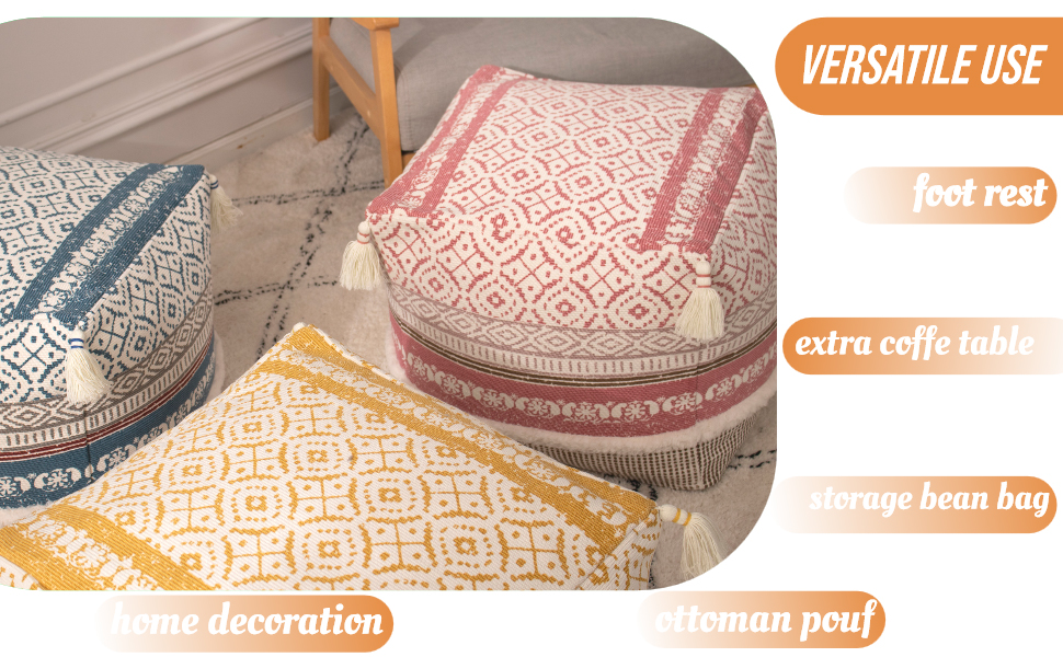 foot stools small living room essentials foot stools and ottomans pouf ottoman pouf chair