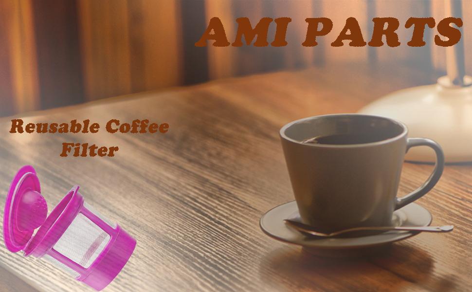 Reusable Coffee Filter for Keurig 2.0 & 1.0 K200 K300 K350 K360 K450 K460 K500 K550 K560 K575