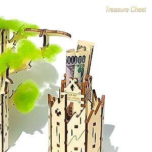 shopG ハイペリオン 木製3D立体パズル へそくり