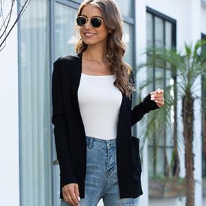 black cardigan for women