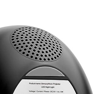 SensoryMoon LED Projector Speaker