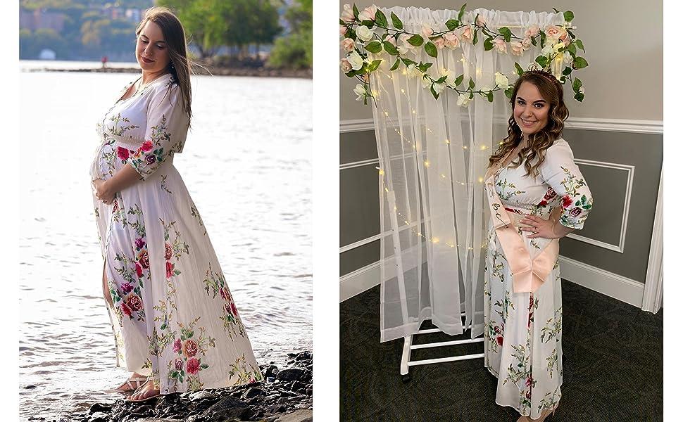 pregant women dress maxi long comfy dress