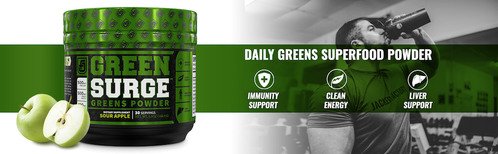 Green Surge Sour Apple - Daily Greens Superfood Powder