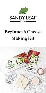 Beginnner's Cheese Making Kit
