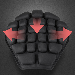 Air Motorcycle Seat Cushion Pressure Relief Ride Seat Pad