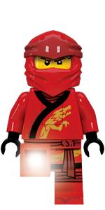 LEGO Ninjago Legacy Kai Minifigure Torch Flashlight