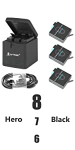 gopro 8 battery