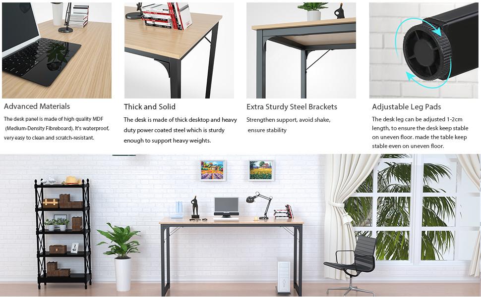 natural office desk