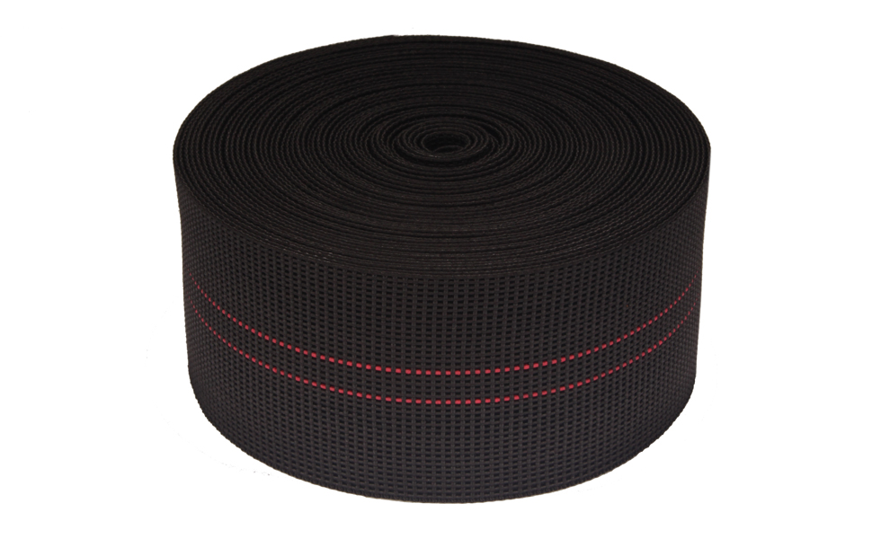 BambooMN Three-Inch Latex Elasbelt Webbing for Chair Repair - 40 Roll
