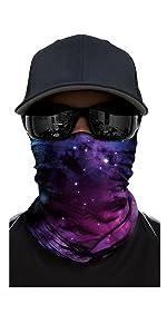 Outdoor Radfahren Hals Abdeckung Dreieckstuch Perücke Sand-Proof Masken A1R N7T5