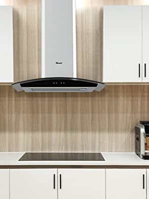GIONIEN Curved Glass Cooker Hoods