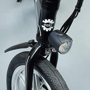 Składany rower elektryczny.