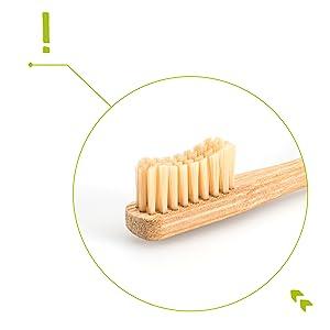 Bosten Bambus-Zahnbürste