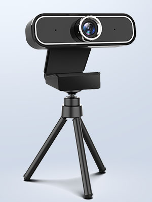web camera with tripod