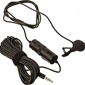 Musical instrument mic condenser long wire for singing practice voice recording with volumecontrol