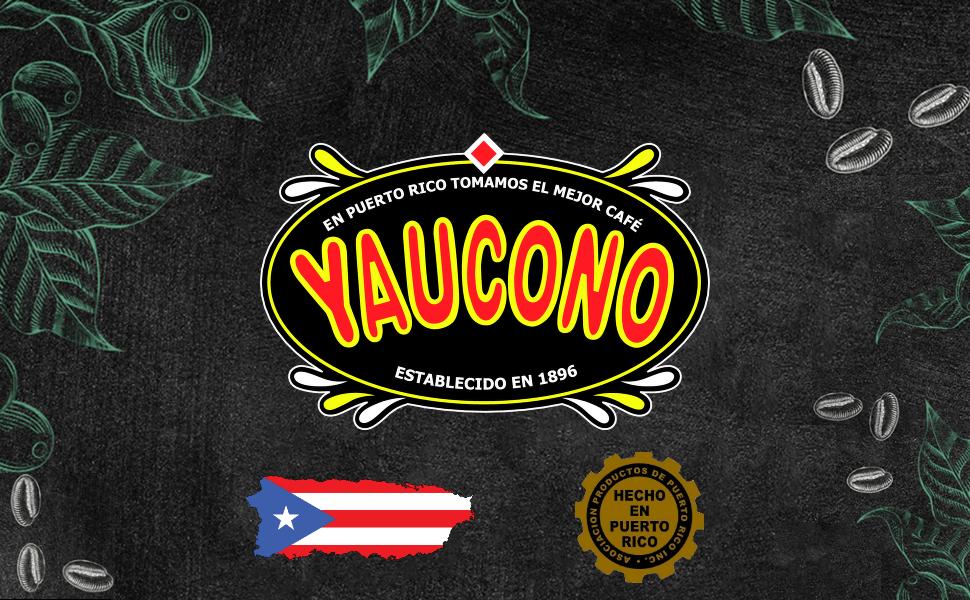yaucono en puerto rico established 1896 puerto rico made coffee selecto