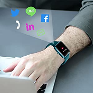 yamay fitness tracker watch heart rate monitor step counter sleep monitor