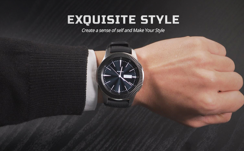 Ringke Bezel Styling for Galaxy Watch 46mm / Galaxy Gear S3 Frontier & Classic Bezel Ring Adhesive