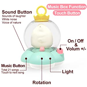 Multi-function Music Box