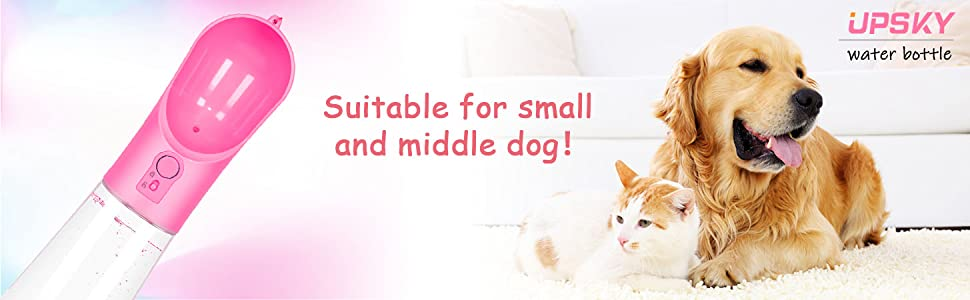 Suitable for small and medium dog