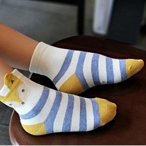 Calzini Bambina Cotone Modello Animale Calze Alla Caviglia Ragazza