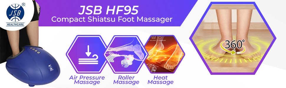 jsb hf95 compact foot shiatsu massager for pain relief