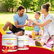 vegan healthy organic natural vitamin B 6, 12 fruits rich minerals gluten free pectin based