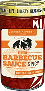 Spicy Cherry Barbecue Sauce