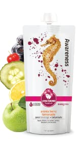Aronia Berry Lemonade with blueberries and acerola high potency vitamin C immune boost