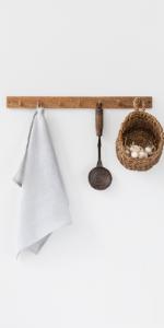 MagicLinen Linen Tea Towel - Linen Kitchen and Dish Towel - Linen Cloth - Hand Towel