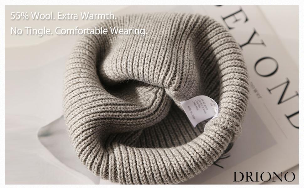 wool acrylic warmth portable soft knit hat laundry wash machine