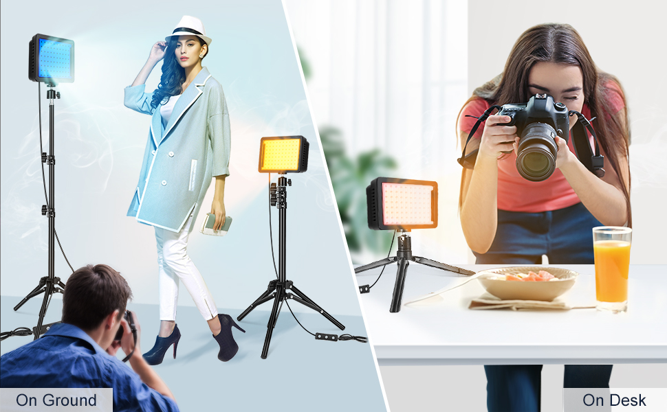 photography lighting for multiple use