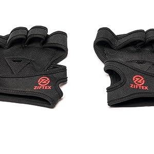 cross fit padded best fingerless men pullup lifting glove sport gear bar wraps dumbbell weight lift