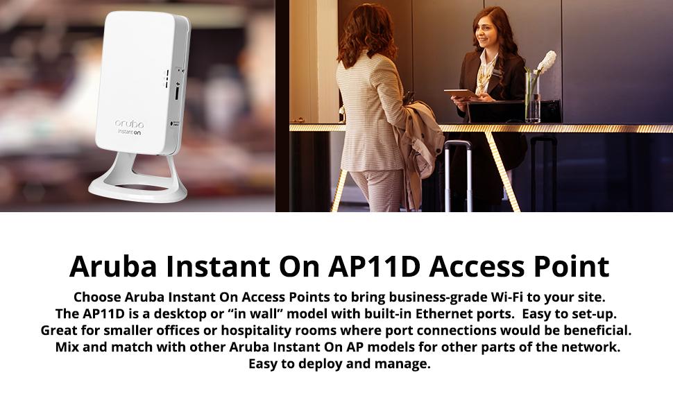Aruba Instant On AP11D Wireless Access Point