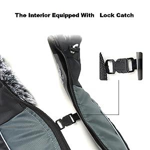dog jacket lock catch