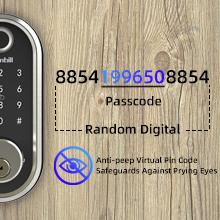 Anti-peep Virtual Passcode