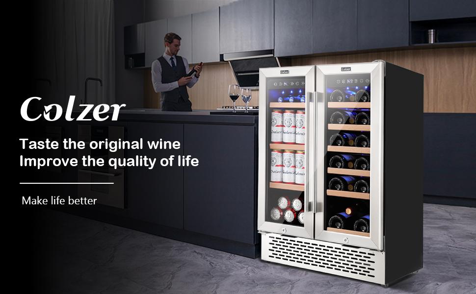 24 Inch Beverage,wine refrigerator,beverage refrigerators,beverage cooler,18 bottle wine cooler
