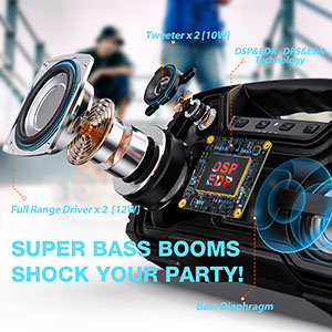 portable outdoor speakers bluetooth bluetooth stereo pairing loud portable bluetooth speakers