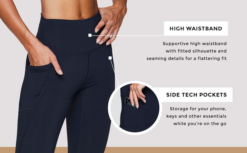 High Waistband, Side Tech Pockets