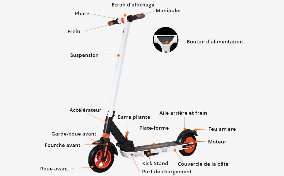 kugoo S1 Trottinette Electrique