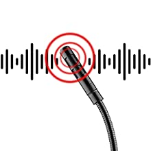noise cancelling usb mic for laptop desktop