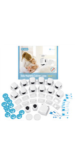 Baby Proofing Magnetic Cabinet Locks